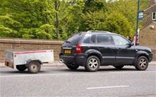Picture of Car & Trailer, Single.